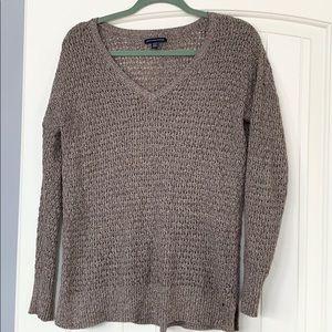 Wool blend American eagle sweater